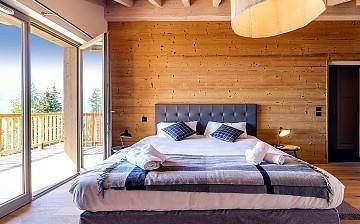 Unterkünfte · Ferienwohnung Le Hameau de Barthelemy · La Rosière · Schlafzimmer