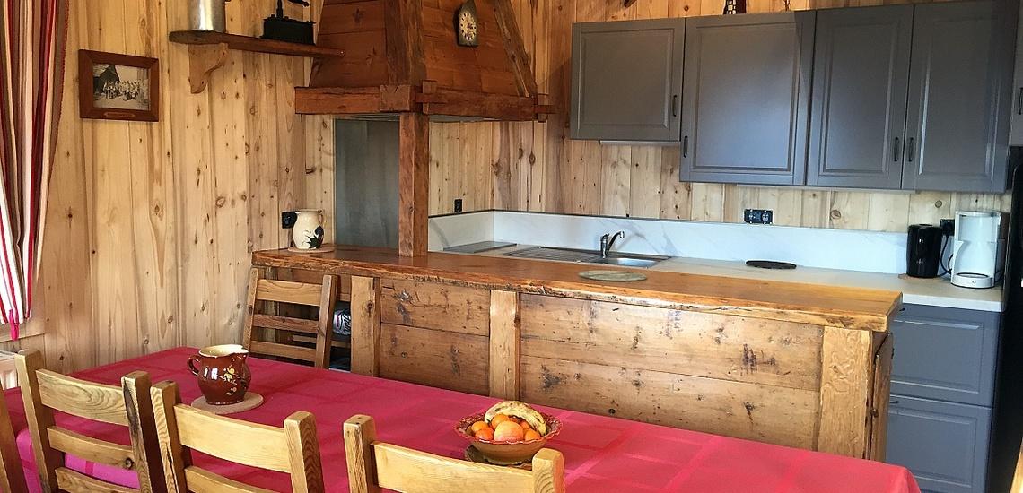 Kochnische, Essen, Chalet MRZ-C104, Morzine Avoiaz, Skigebiet Portes du Soleil