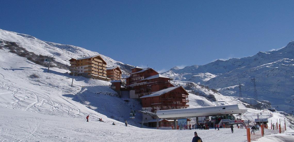 Ihre Ferien-Residenz an der Piste  ∙ Ferienwohnungen, Les Menuires, Trois Vallees ∙ Les Chalets de l'Adonis