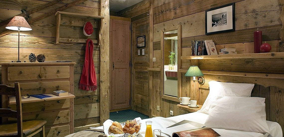 Hotel Les 3 Vallées · Val Thorens · Schlafzimmer