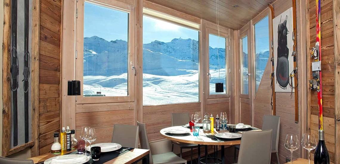 Hotel Les 3 Vallées · Val Thorens · Panoramablick