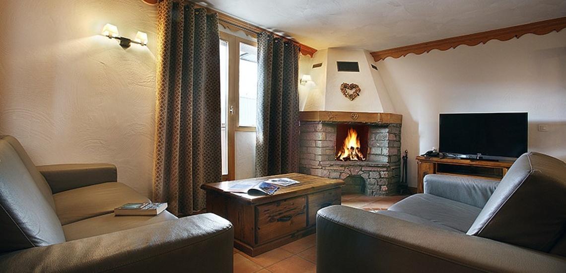 Unterkünfte Val Thorens • Ferienwohnungen Plein Sud • Val Thorens - Les 3 Vallees / Trois Vallees • Wohnraum