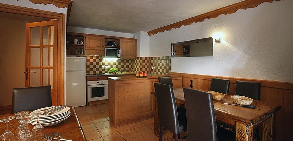 Unterkünfte Val Thorens • Ferienwohnungen Plein Sud • Val Thorens - Les 3 Vallees / Trois Vallees • Kochen / Essen