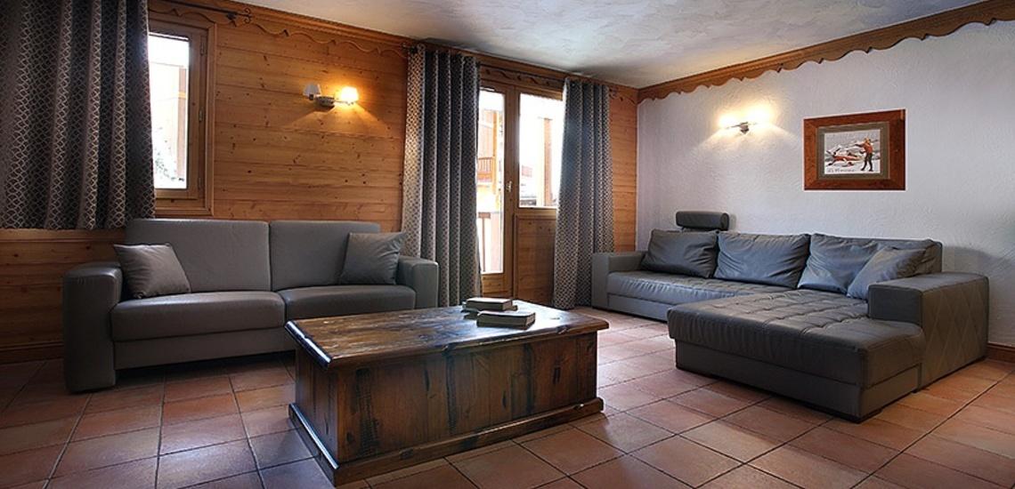 Unterkünfte Val Thorens • Ferienwohnungen Plein Sud • Val Thorens - Les 3 Vallees / Trois Vallees • Wohnbereich