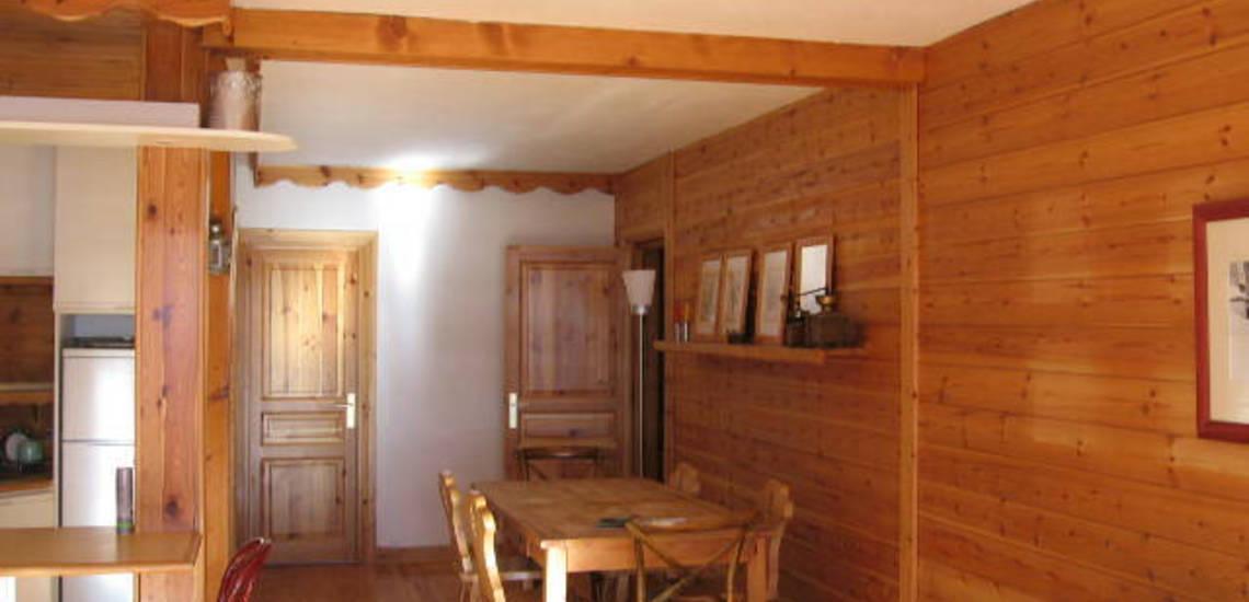 Tignes · Ferienwohnungen · Beispiel TIG-W153 · Wohn-/Esszimmer