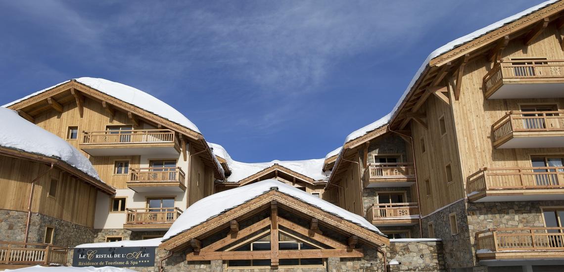 Alpe d Huez ∙ Ferienwohnungen ∙ Le Cristal de L'Alpe - Teilansicht