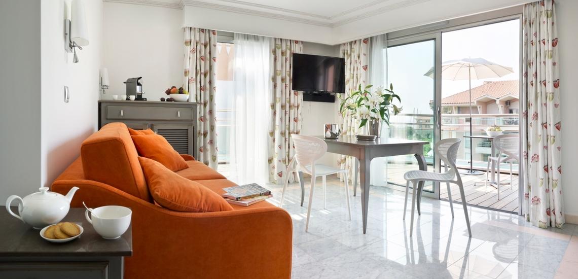 Komfort Ferienwohnung in der Residenz Villa Romana, Frejus Plage, Cote d'Azur, Südfrankreich