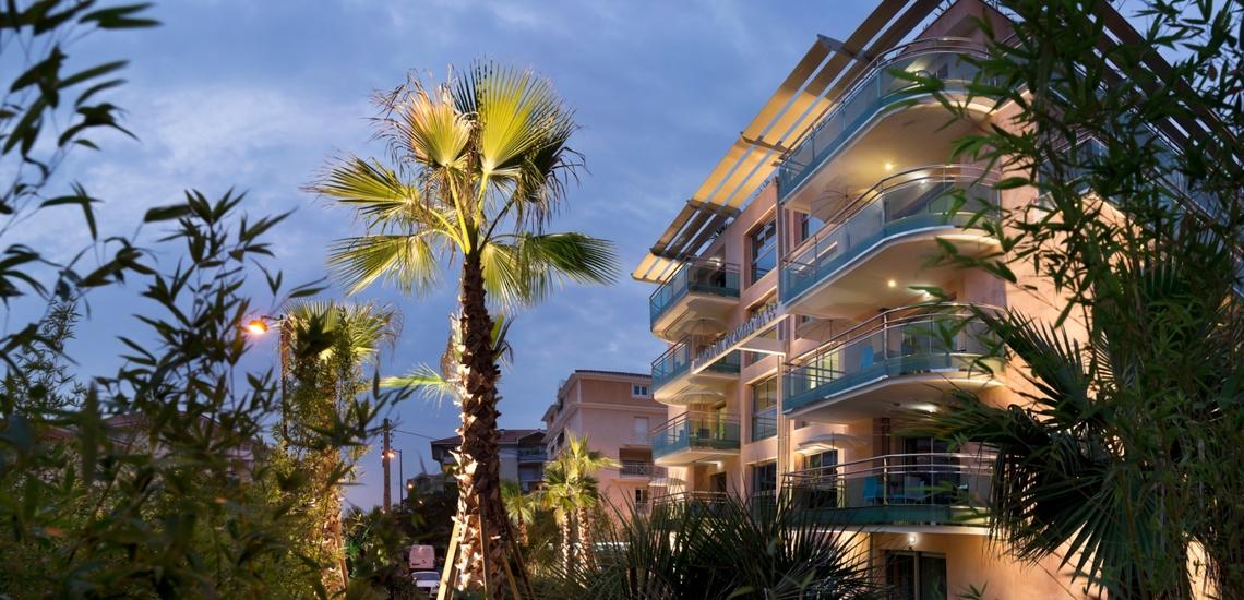 Ihre Ferien-Residenz Villa Romana, direkt in Frejus Plage an der schönen Cote-d'Azur - Südfrankreich