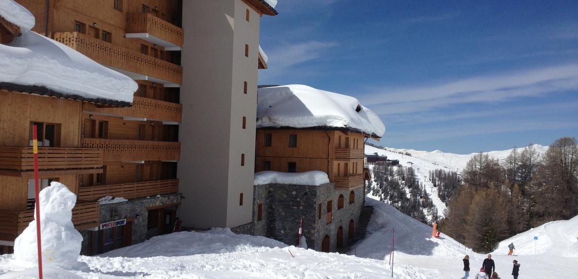 Skiurlaub direkt an den Pisten