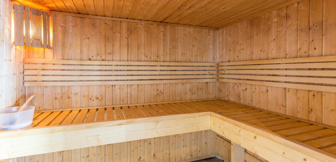 Sauna im Sun Valley ∙ La Plagne Soleil ∙ Paradiski La Plagne