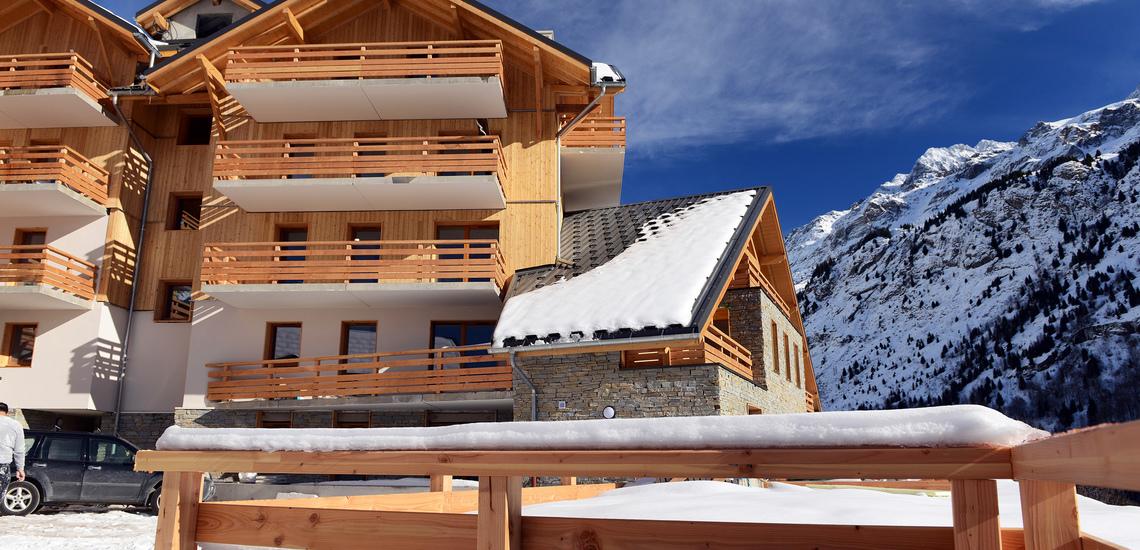 RESIDENZ - PANORAMA ∙ Le Crystal Blanc ∙ Vaujany ∙ Ferienwohnungen ∙ Skireisen / Skiurlaub im Skigebiet Alpe d'Huez, Frankreich.