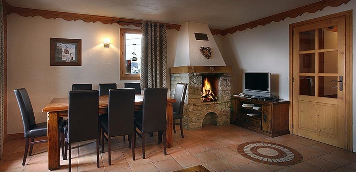 Unterkünfte Val Thorens • Ferienwohnungen Plein Sud • Val Thorens - Les 3 Vallees / Trois Vallees • Wohnzimmer