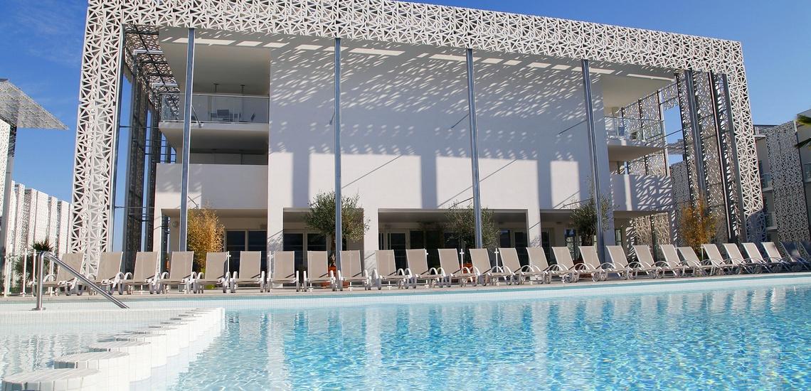 Außenpool der Ferienresidenz Nakara  •  Cap d'Agde  •  Südfrankreich