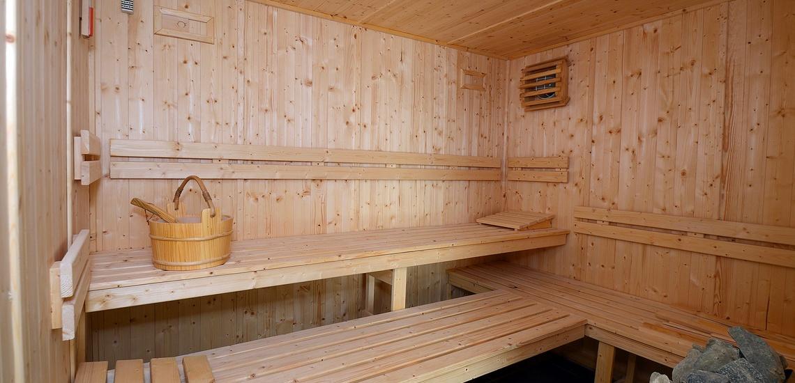 Eine Sauna der Residenz Nakara in Cap d'Agde