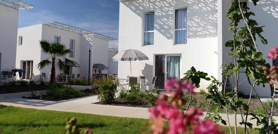 Ferienhäuser der Ferienresidenz Nakara  •  Cap d'Agde  •  Südfrankreich