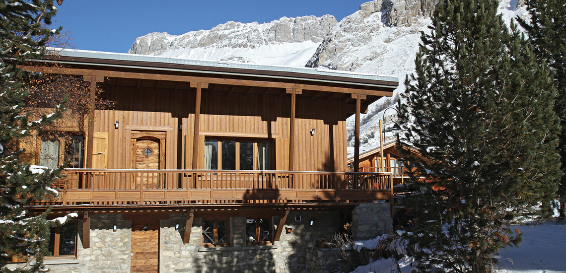 Chalet Le Cabri in Val d'Isere. Das Chalet.
