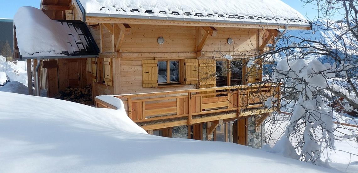 Chalet Le Jardin d'Hiver · Ihr Chalet in La Toussuire / Skigebiet Les Sybelles · Chalet im Winter