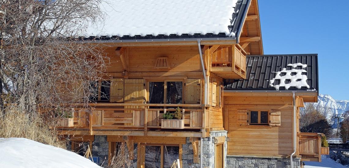 Chalet Le Jardin d'Hiver · Ihr Chalet in La Toussuire / Skigebiet Les Sybelles · Aussenansicht