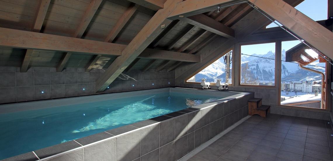 Chalet Le Jardin d'Hiver · Ihr Chalet in La Toussuire / Skigebiet Les Sybelles · Pool