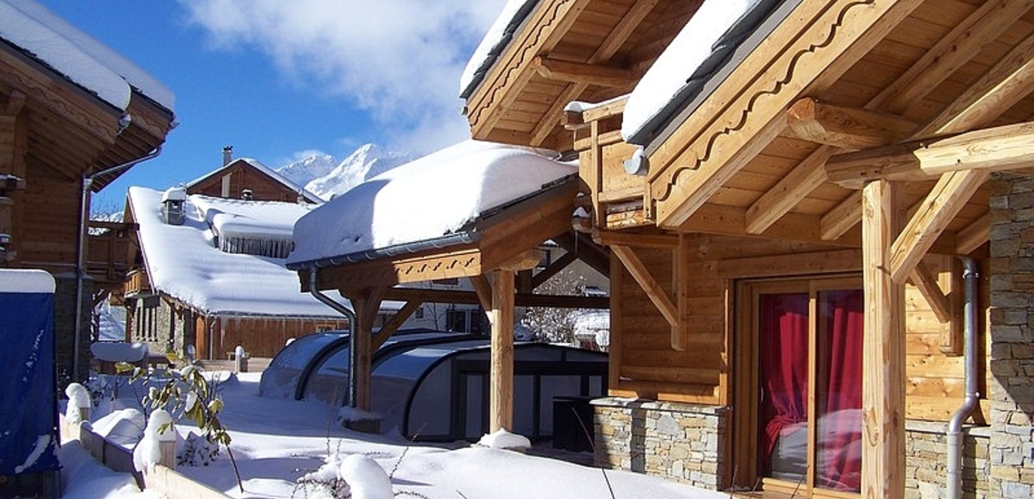 Chalet Prestige Lodge in Les 2 Alpes / Deux Alpes · Ihr Chalet im Winter