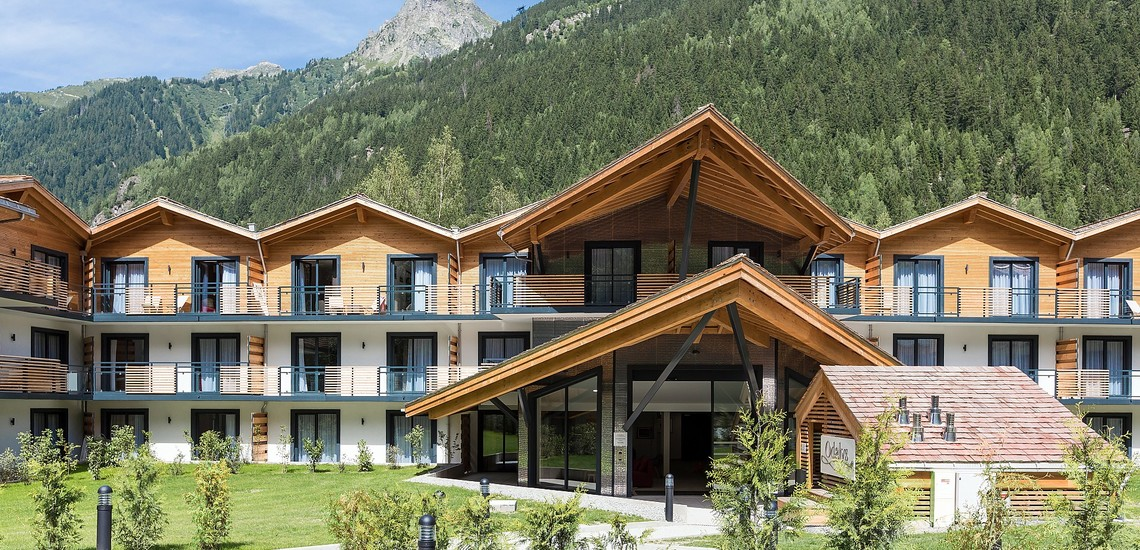 Isatis - Chamonix Mont Blanc - Eingang