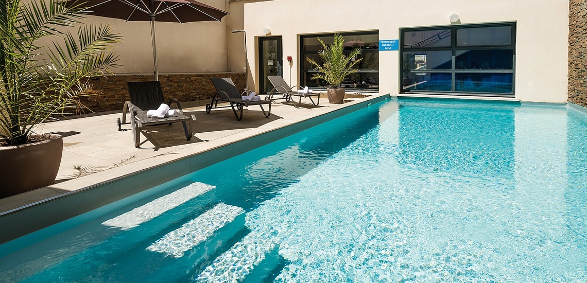 Biarritz · Ferienwohnungen · Les Patios Eugenie - Pool