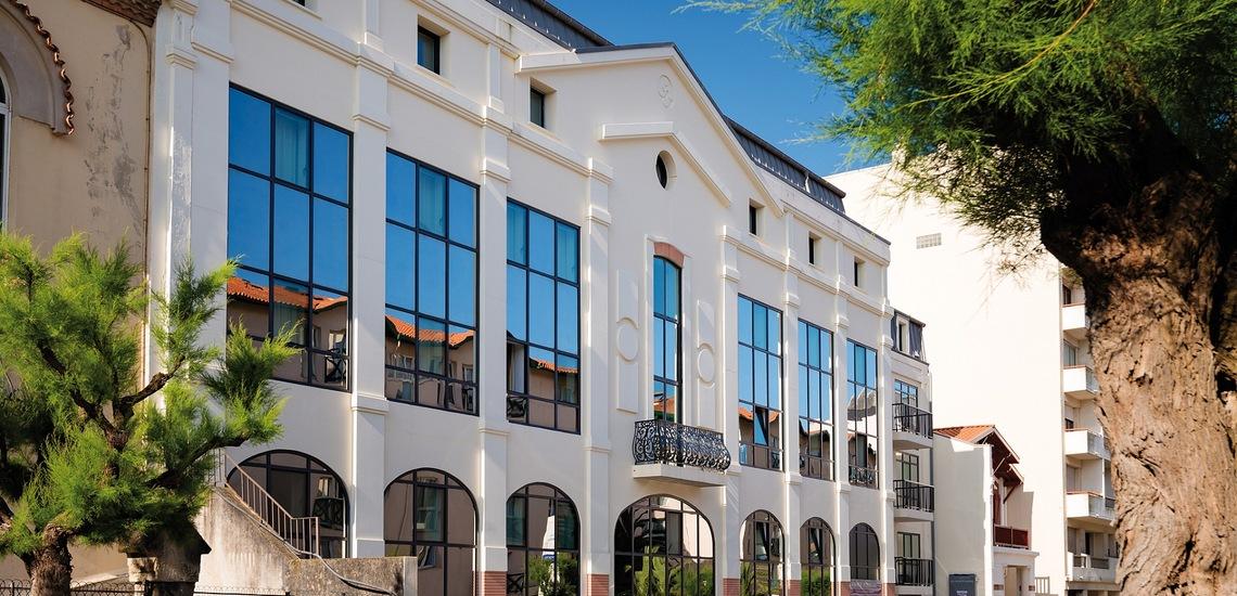 Biarritz · Ferienwohnungen · Les Patios Eugenie - Residenz, Teilansicht