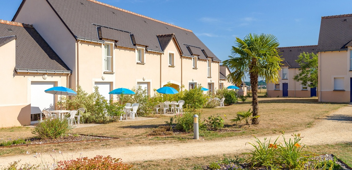 Ferienhäuser der Residenz Les Jardins Renaissance in Azay-Le-Rideau · Ferien im Loire-Tal, Pays de la Loire, Frankreich