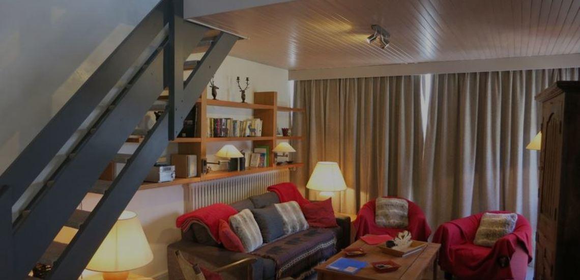 Tignes · Ferienwohnungen · Beispiel TIG-W153 · Wohnzimmer