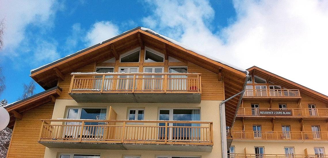 Residenz L'Ours Blanc - Ferienwohnungen in Les 2 Alpes / Les Deux Alpes