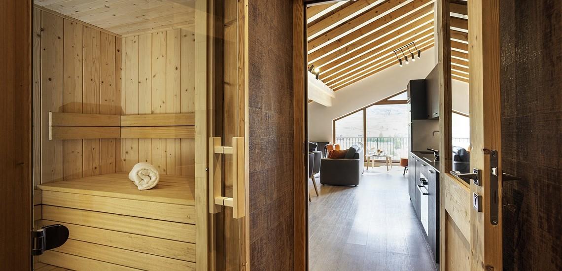 Ferienwohnungen Daria-I Nor in Alpe d'Huez - Wohnung mit Sauna