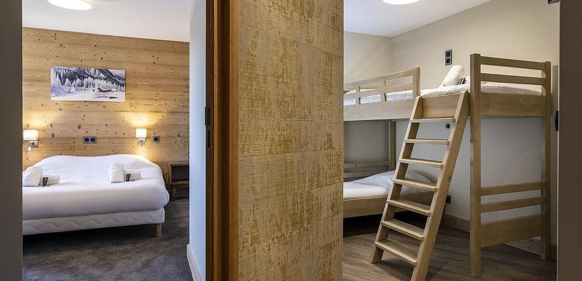 Ferienwohnungen Daria-I Nor in Alpe d'Huez - Schlafzimmer
