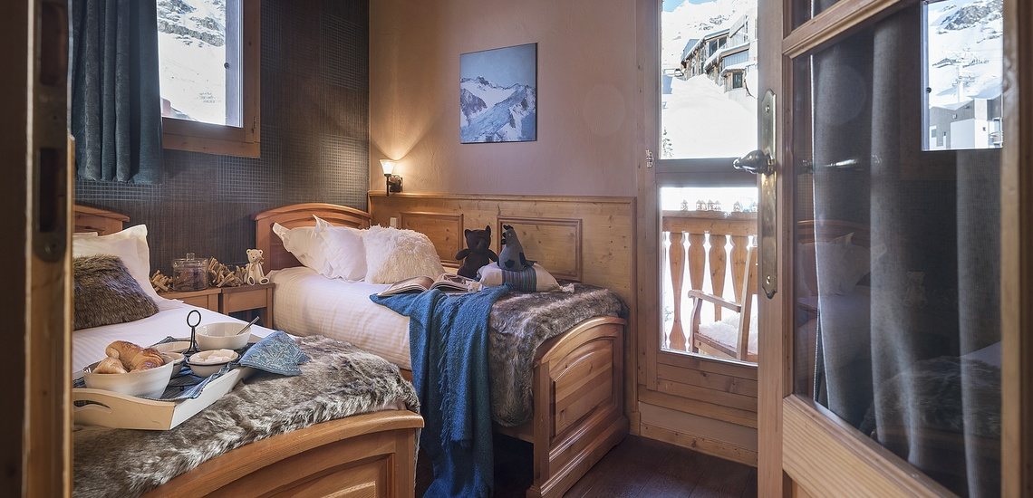 Residenz Les Montagnettes - Lombarde in Val Thorens, Schlafzimmer