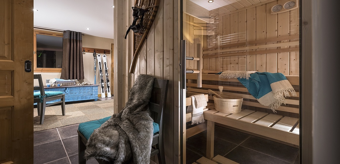Residenz Les Montagnettes - Lombarde in Val Thorens, Sauna