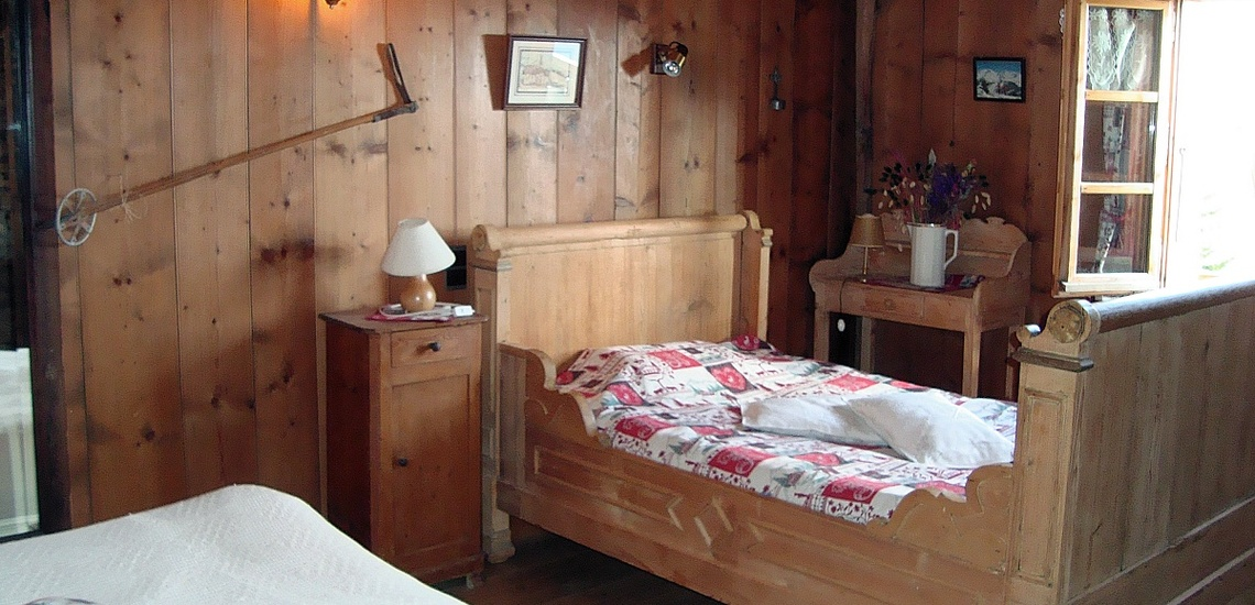 Schlafzimmer, Chalet MRZ-C104, Morzine Avoiaz, Skigebiet Portes du Soleil