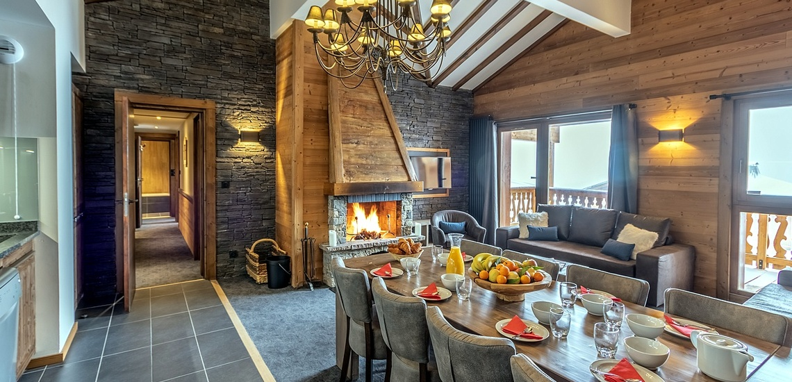 Chalet Altitude - Val Thorens - Essen