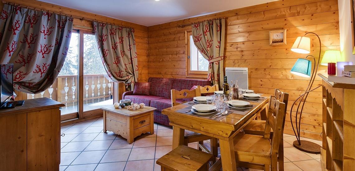 Le Hameau du Beaufortain - Les Saisies - Ferienwohnung