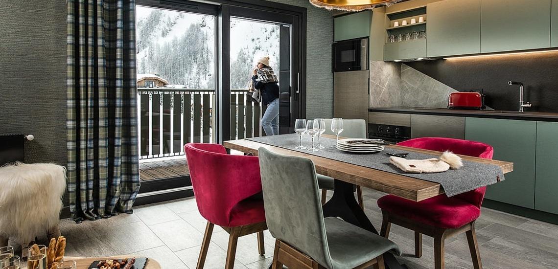 Val d'Isere - Ferienwohnungen Chalet Izia ∙ Ferienwohnung / Appartement bis 4 Pers.