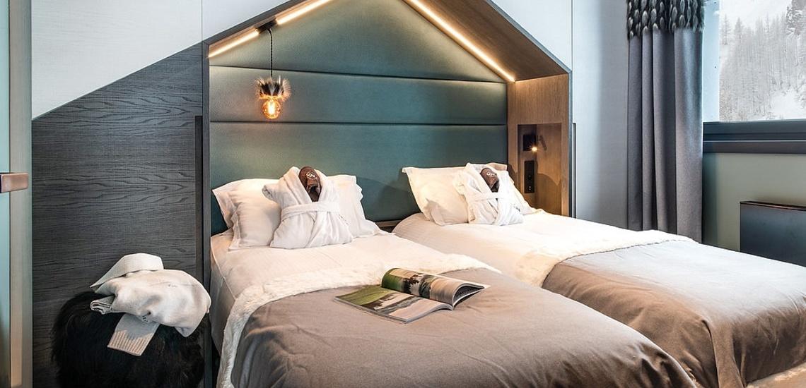 Val d'Isere - Ferienwohnungen Chalet Izia ∙ Schlafzimmer