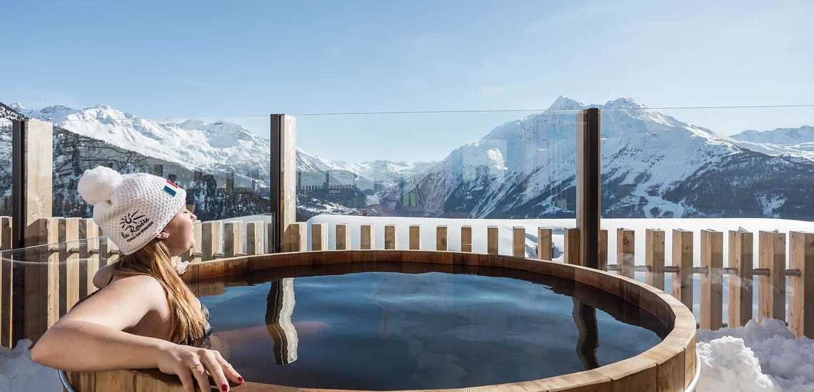 Geniesen im Alparena Hotel & Spa, Unterkünfte in La Rosiere, Skigebiet Espace San Bernardo, Skireisen/Skiurlaub in Frankreich, französische Alpen.