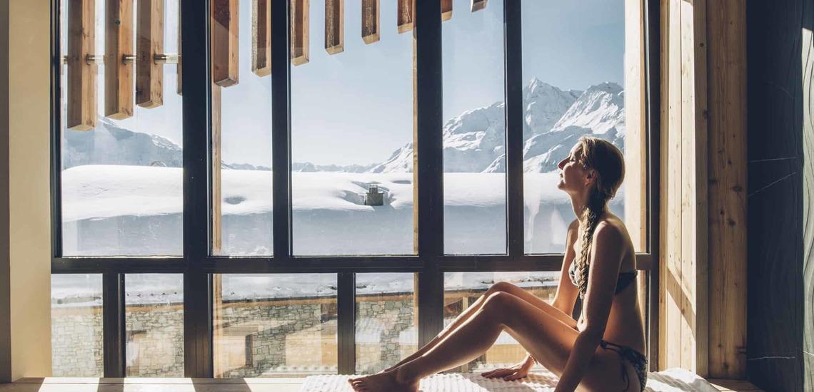 Relaxen im Alparena Hotel & Spa, Unterkünfte in La Rosiere, Skigebiet Espace San Bernardo, Skireisen/Skiurlaub in Frankreich, französische Alpen.
