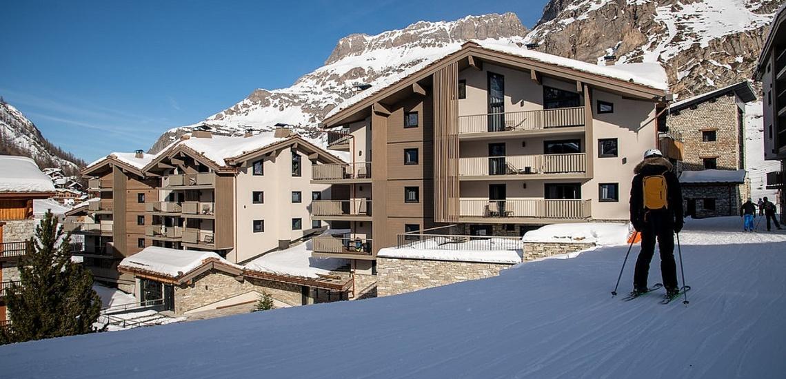 Val d'Isere - Ferienwohnungen Chalet Izia ∙ Auf Skiern zurück zur Ferienwohnung