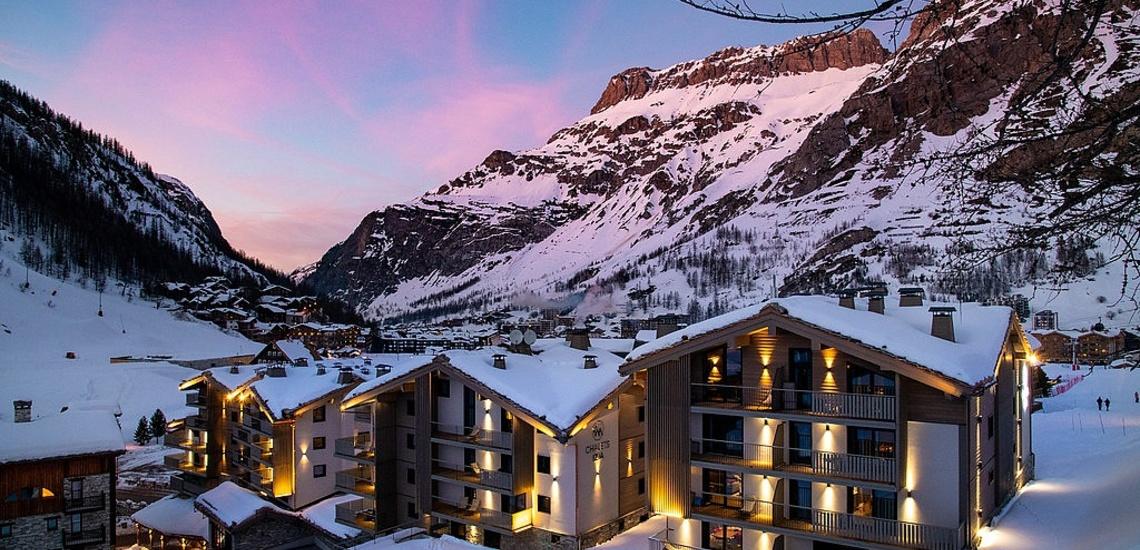 Val d'Isere - Ferienwohnungen Chalet Izia ∙ Aussenansicht