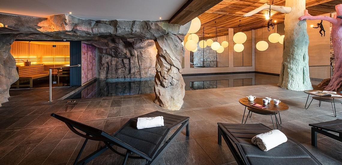 Val d'Isere - Ferienwohnungen Chalet Izia ∙ Pool