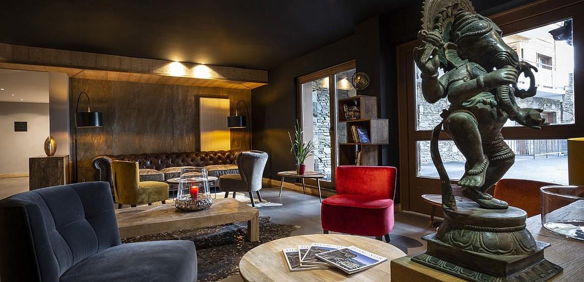 Ferienwohnungen Daria-I Nor in Alpe d'Huez - Salon