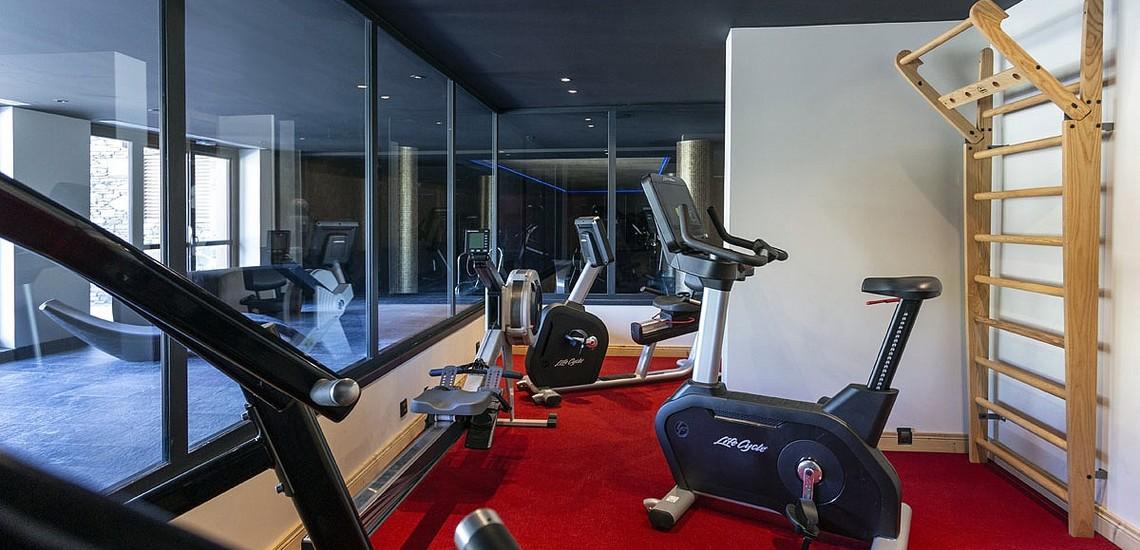 Fitnessraum der Residenz Daria-I Nor - Ferienwohnungen in Alpe d'Huez