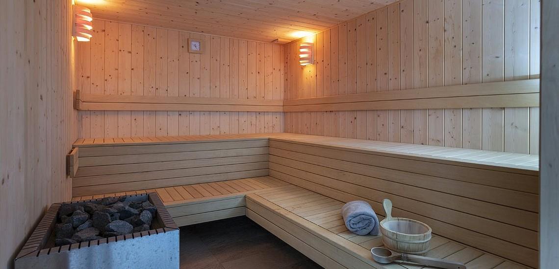 Sauna der Residenz Daria-I Nor - Ferienwohnungen in Alpe d'Huez