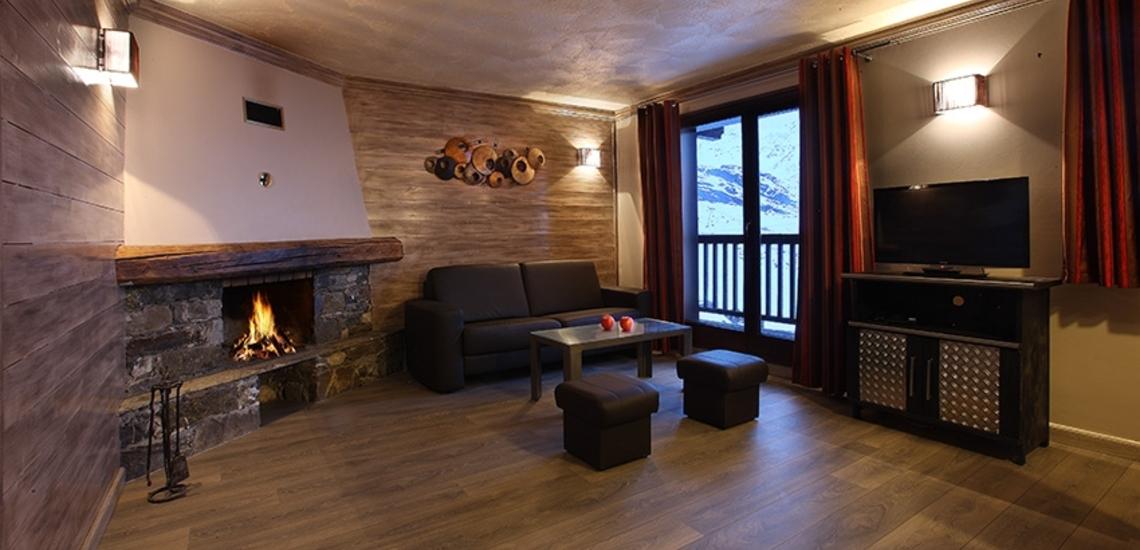 Unterkünfte Val Thorens • Ferienwohnung Chalet Hermine • Val Thorens - Les 3 Vallees / Trois Vallees • Bad in einer Ferienwohnung der Residenz Chalet Hermine