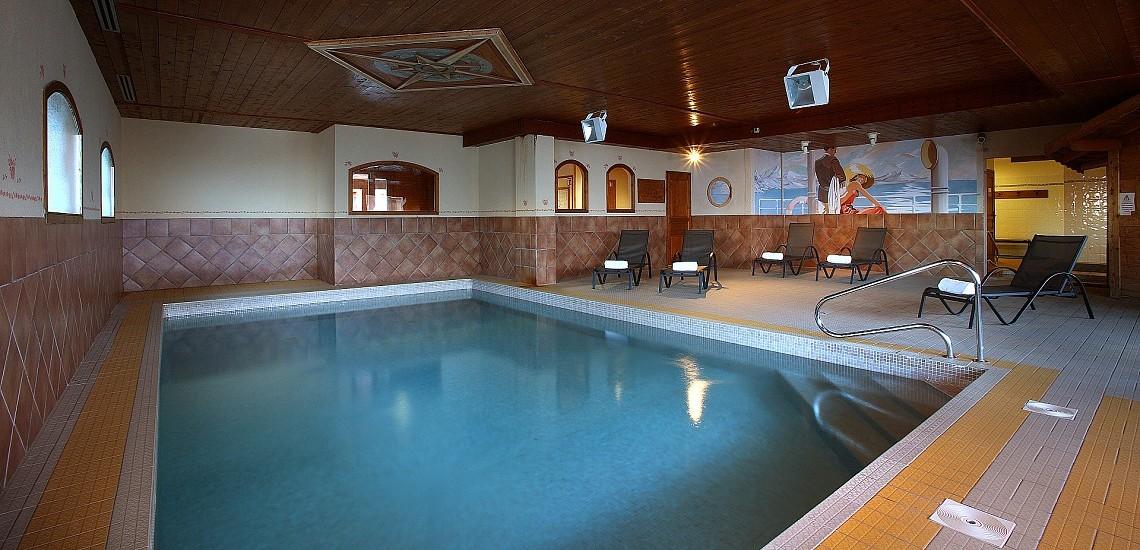 Unterkünfte Val Thorens • Ferienwohnung Chalet Hermine • Val Thorens - Les 3 Vallees / Trois Vallees • Pool der Residenz Chalet Hermine