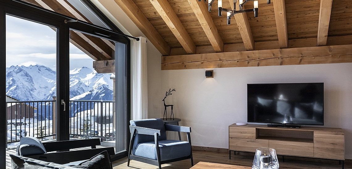 Alpe d'Huez Chalet - Les Chalets du Daria, Wohnen - Skireisen / Skiurlaub in Alpe d Huez